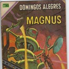 Tebeos: DOMINGOS ALEGRES: MAGNUS - AÑO XVII - Nº 840 - MAYO 3 DE 1970 ** EDITORIAL NOVARO **. Lote 211651270