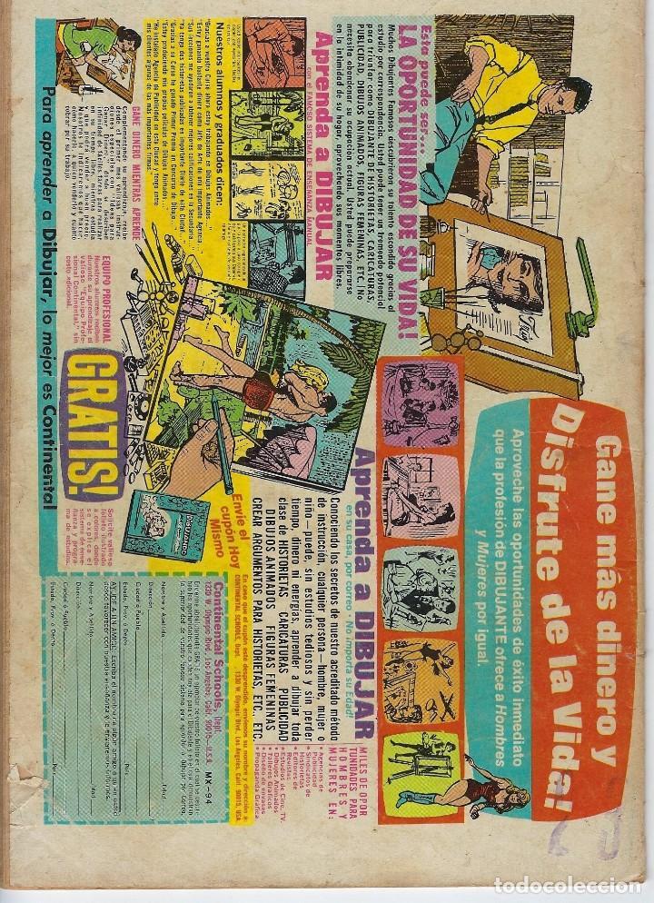 Tebeos: DOMINGOS ALEGRES: MAGNUS - AÑO XVII - Nº 840 - MAYO 3 DE 1970 ** EDITORIAL NOVARO ** - Foto 2 - 211651270