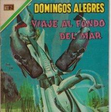 Tebeos: DOMINGOS ALEGRES: VIAJE AL FONDO DEL MAR - AÑO XVII - Nº 838 - ABR.19 DE 1970 ** EDITORIAL NOVARO **. Lote 211651386