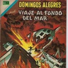 Tebeos: DOMINGOS ALEGRES: VIAJE AL FONDO DEL MAR - AÑO XVI - Nº 830 - FEB. 22 DE 1970 ** EDITORIAL NOVARO **. Lote 211651500