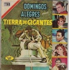 Tebeos: DOMINGOS ALEGRES: TIERRA DE GIGANTES - AÑO XVI - Nº 829 - FEB. 15 DE 1970 ** EDITORIAL NOVARO **. Lote 211651681