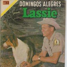 Tebeos: DOMINGOS ALEGRES: LASSIE - AÑO XVI - Nº 828 - FEB. 8 DE 1970 ** EDITORIAL NOVARO **. Lote 211651906