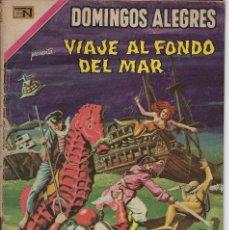 Tebeos: DOMINGOS ALEGRES: VIAJE AL FONDO DEL MAR - AÑO XVI - Nº 818 - NOV. 30 DE 1969 ** EDITORIAL NOVARO **. Lote 211652123