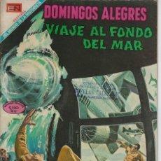 Tebeos: DOMINGOS ALEGRES: VIAJE AL FONDO DEL MAR - AÑO XVI - Nº 805 - AGO. 31 DE 1969 ** EDITORIAL NOVARO **. Lote 211652675