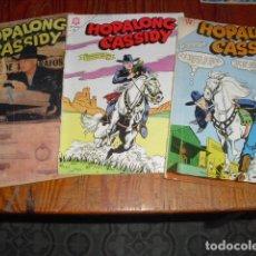 Tebeos: 3 EJEMPLARES DE NAVAROS - HOPALONG CASSIDY -. Lote 211706291