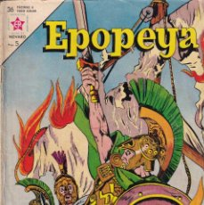 Tebeos: EPOPEYA : NUMERO 66 LA SALVACION DE ATENAS, EDITORIAL NOVARO. Lote 211779283
