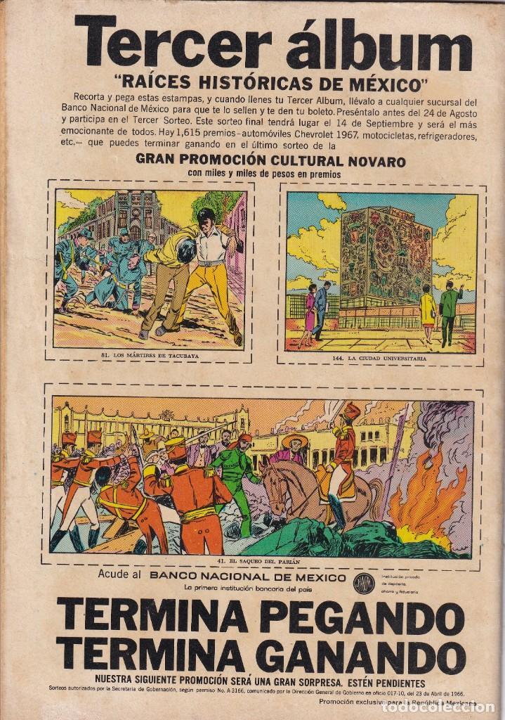 Tebeos: EPOPEYA : NUMERO 111 BREVE HISTORIA DEL TEATRO (FINAL), EDITORIAL NOVARO - Foto 2 - 211780162