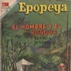 Livros de Banda Desenhada: EPOPEYA : NUMERO ESPECIAL EL HOMBRE Y EL BOSQUE, EDITORIAL NOVARO. Lote 211825640