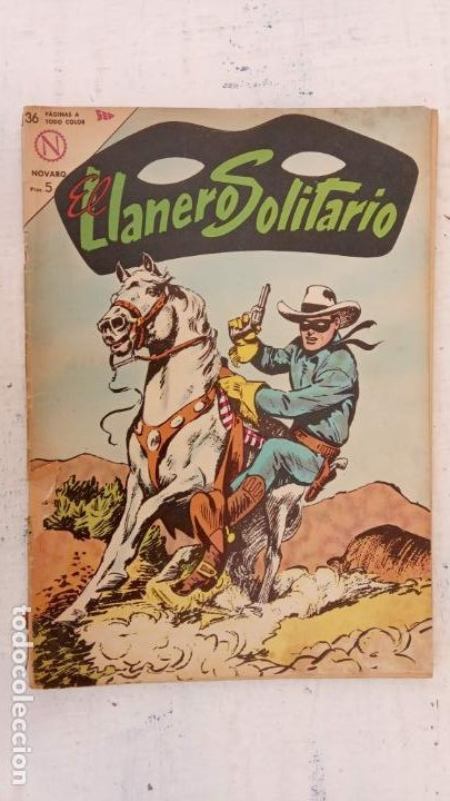 EL LLANERO SOLITARIO Nº 131 - NOVARO 1964 (Tebeos y Comics - Novaro - El Llanero Solitario)