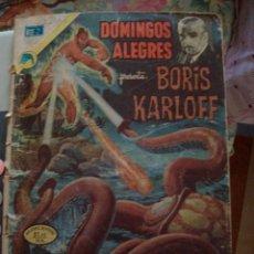 Giornalini: DOMINGOS ALEGRES Nº 971 BORIS KARLOFF NOVARO. Lote 212827498