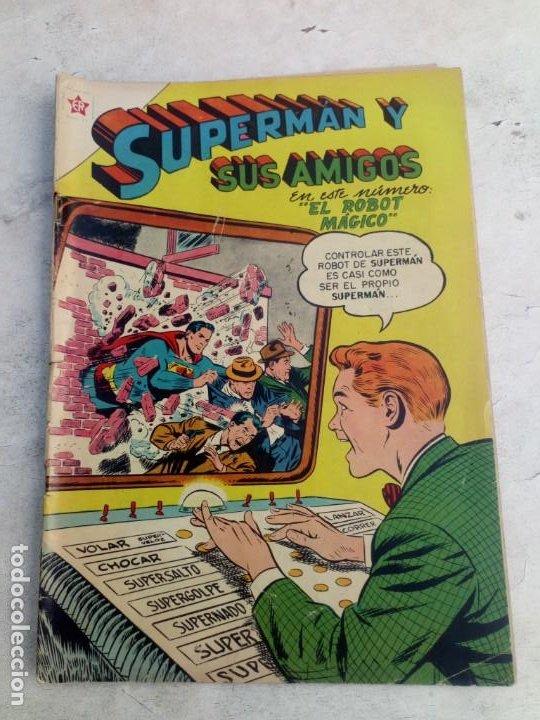 SUPERMÁN Y SUS AMIGOS NOVARO Nº 9 (Tebeos y Comics - Novaro - Superman)