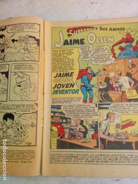 Tebeos: Supermán y sus amigos Novaro Nº 9 - Foto 3 - 212860730
