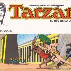 Tebeos: COLECCION COMPLETA 8 EJENPLARES TARZAN EL REY DE LA JUNGLA EDITORIAL NOVARO. Lote 213222683