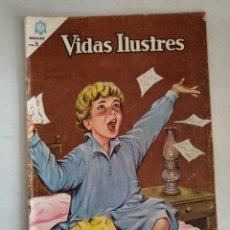 Tebeos: VIDAS ILUSTRES LORD KELVIN NUM.115 SIN GRAPAS. Lote 213381698