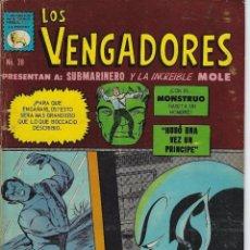 Tebeos: LOS VENGADORES: MARVEL - Nº 38 - ENERO 28 DE 1967 ** EDITORA DE PERIODICOS, S.C.L, LA PRENSA **. Lote 213599153