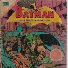 Tebeos: BATMAN: EL HOMBRE MURCIÉLAGO - AÑO XVIII - Nº 576 - MAR. 25 DE 1971 ** EDITORIAL NOVARO **. Lote 213778000