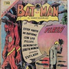 Tebeos: BATMAN: EL HOMBRE MURCIÉLAGO - AÑO XV - Nº 371 - ABR. 20 DE 1967 ** EDITORIAL NOVARO **. Lote 213780083