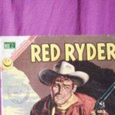 Tebeos: RED RIDER DE NOVARO GUARIDA DE PILLOS. Lote 213847248