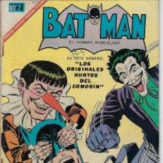 Tebeos: BATMAN: EL HOMBRE MURCIÉLAGO - AÑO XV - Nº 380 - JUN. 22 DE 1967 ** EDITORIAL NOVARO **. Lote 213855272