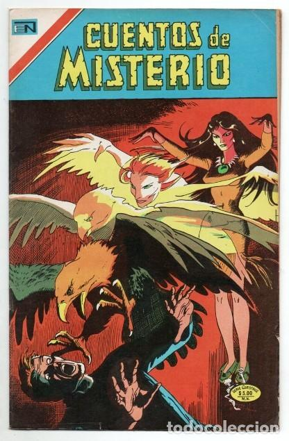 1975 CUENTOS DE MISTERIO # 1 NOVARO AVESTRUZ BERNI WRIGHTSON HOUSE OF MYSTERY 203 IMPECABLE ESTADO (Tebeos y Comics - Novaro - Sci-Fi)