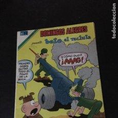 Tebeos: NOVARO DOMINGOS ALEGRES SERIE AGUILA NUMERO 1393 BUEN ESTADO. Lote 213993080
