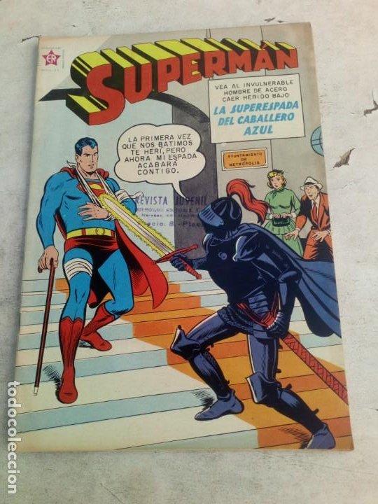 SUPERMAN NOVARO Nº 201 EXCELENTE ESTADO (Tebeos y Comics - Novaro - Superman)