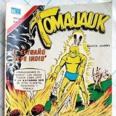 """Tebeos: TOMAJAUK Nº 221 OCTUBRE/1973 """"EL EXTRAÑO JEFE INDIO"""". Lote 214179733"""