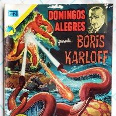 Tebeos: DOMINGOS ALEGRES - BORIS KARLOFF. Nº 971 DICIEMBRE/1972. Lote 214193633