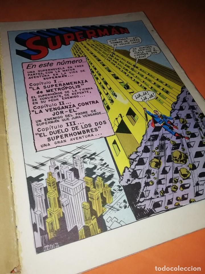 Tebeos: SUPERMAN. LIBRO COMIC . TOMO XI. EDITORIAL NOVARO 1974 - Foto 4 - 214255622