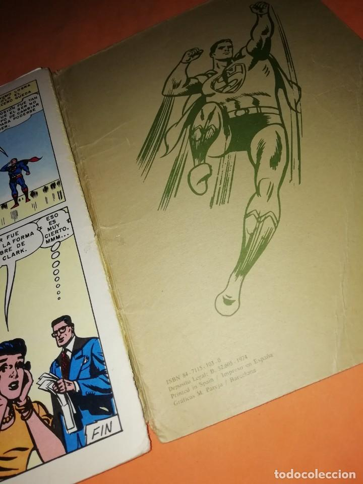 Tebeos: SUPERMAN. LIBRO COMIC . TOMO XI. EDITORIAL NOVARO 1974 - Foto 5 - 214255622