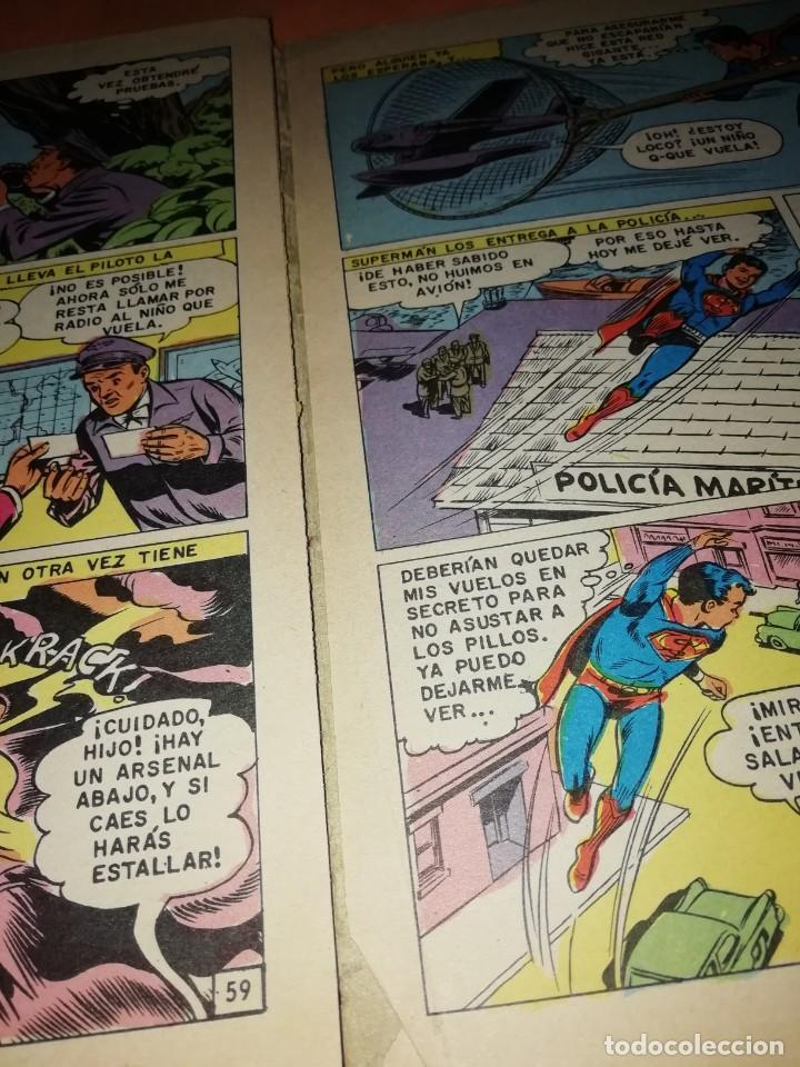 Tebeos: SUPERMAN. LIBRO COMIC . TOMO XXXIX . EDITORIAL NOVARO 1974 - Foto 2 - 214256052