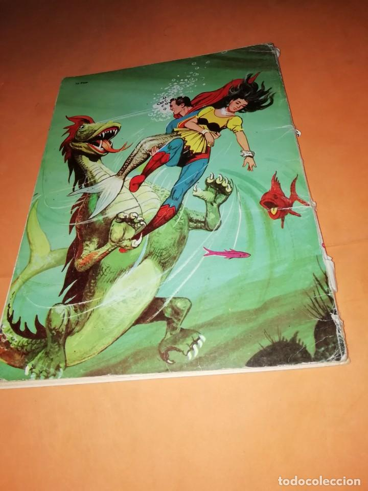 Tebeos: SUPERMAN. LIBRO COMIC . TOMO XXXIX . EDITORIAL NOVARO 1974 - Foto 4 - 214256052