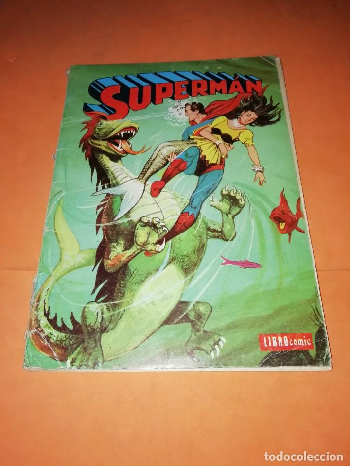 SUPERMAN. LIBRO COMIC . TOMO XXXIX . EDITORIAL NOVARO 1974 (Tebeos y Comics - Novaro - Superman)
