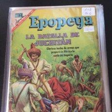 Tebeos: NOVARO EPOPEYA NUMERO 112 NORMAL ESTADO. Lote 214415827