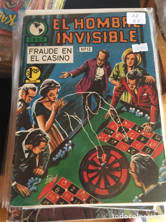 EL HOMBRE INVISIBLE NUMERO 12 BUEN ESTADO (Tebeos y Comics - Novaro - Otros)