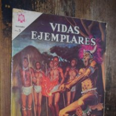 Tebeos: VIDAS EJEMPLARES, NOVARO, LOS MARTIRES DE UGANDA. Lote 214694773