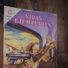 Tebeos: VIDAS EJEMPLARES, NOVARO, TRES MONJES DEL DESIERTO. Lote 214695511