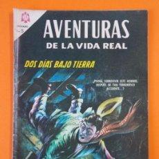Tebeos: AVENTURAS DE LA VIDA REAL - Nº125 - DOS DIAS BAJO TIERRA - NOVARO - AÑO 1966 ...L1813. Lote 214703862