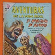 Tebeos: AVENTURAS DE LA VIDA REAL - Nº124 - EL MONSTRUO DE NEMROD - NOVARO - AÑO 1966 ...L1814. Lote 214704093