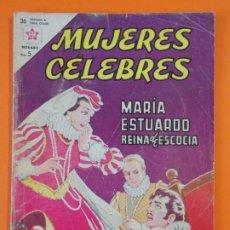 Tebeos: MUJERES CELEBRES - Nº31 - MARIA ESTUARDO, REINA DE ESCOCIA - NOVARO - AÑO 1963 ...L1815. Lote 214704481