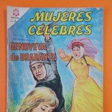 Tebeos: MUJERES CELEBRES - Nº53 - GENOVEVA DE BRABANTE - NOVARO - AÑO 1965 ...L1817. Lote 214704968