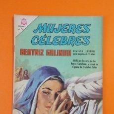 Tebeos: MUJERES CELEBRES - Nº63 - BEATRIZ GALINDO - NOVARO - AÑO 1966 ...L1819. Lote 214705255