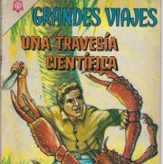 Livros de Banda Desenhada: GRANDES VIAJES: UNA TRAVESÍA CIENTÍFICA - AÑO V - Nº 38 - MARZO 1º DE 1966 ** EDITORIAL NOVARO**. Lote 215239392