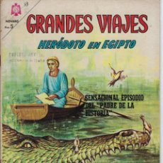 Tebeos: GRANDES VIAJES: HERÓDOTO EN EGIPTO - AÑO III - Nº 33 - OCT. 1º DE 1965 ** EDITORIAL NOVARO**. Lote 215239978