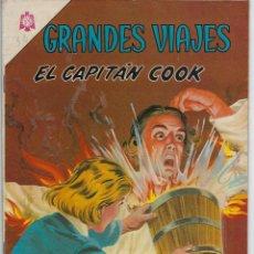 Livros de Banda Desenhada: GRANDES VIAJES: EL CAPITÁN COOK - AÑO III - Nº 32 - SEP. 1º DE 1965 ** EDITORIAL NOVARO**. Lote 215240095