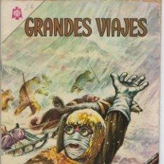 Livros de Banda Desenhada: GRANDES VIAJES: EL PASO DEL NOROESTE - AÑO III - Nº 26 - MARZO 1º DE 1965 ** EDITORIAL NOVARO **. Lote 215240806