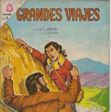 Tebeos: GRANDES VIAJES: LA CONDAMINE EN LA AMÉRICA...AÑO II - Nº 21 - OCT. 1º DE 1964 **EDITORIAL NOVARO **. Lote 215241466