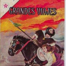 Livros de Banda Desenhada: GRANDES VIAJES: MARCO POLO EN EL MEDIO ORIENTE, AÑO I - Nº 3 - ABR. 1º DE 1963 **EDITORIAL NOVARO **. Lote 215242556