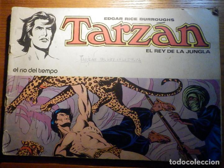 TARZAN - EL REY DE LA JUNGLA - EDGAR RICE BURROUGHS - Nº 3 - EL RIO DEL TIEMPO - NOVARO (Tebeos y Comics - Novaro - Tarzán)