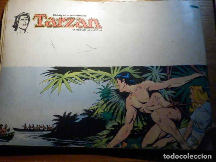 Tebeos: Tarzan - El Rey de la Jungla - Edgar Rice Burroughs - Nº 3 - El Rio del Tiempo - Novaro - Foto 5 - 215258447